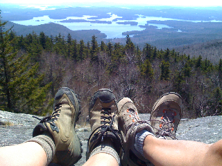 View of Squam from Mt. Morgan