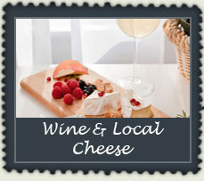 Wine and Local Cheese