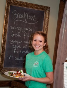 Squam Lake Inn Guest Breakfast