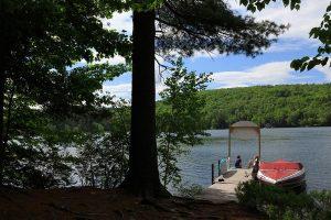 The lake at Squam Lake Inn