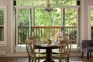 Squam Lake Inn dining table