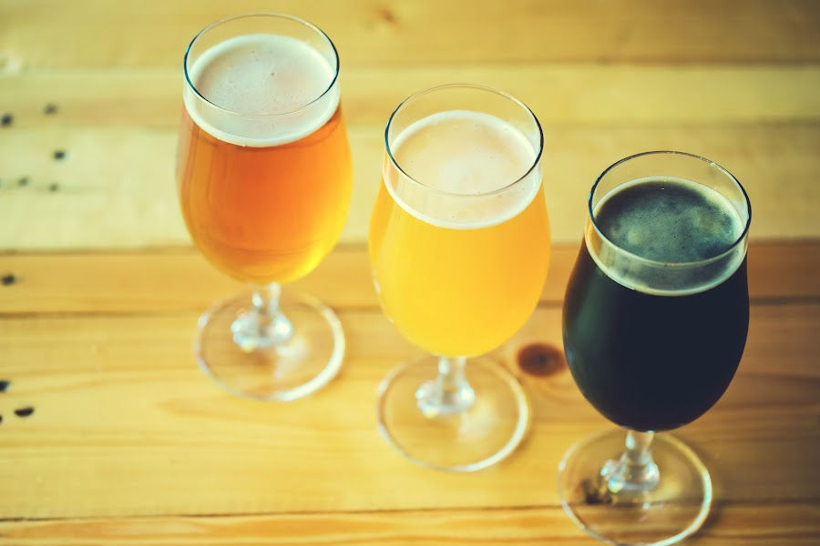 Beer Tasting and Breweries in New Hampshire - Beer Flight