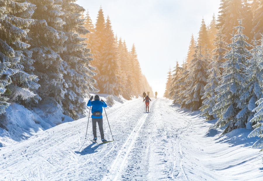Cross Country Skiing in New Hampshire
