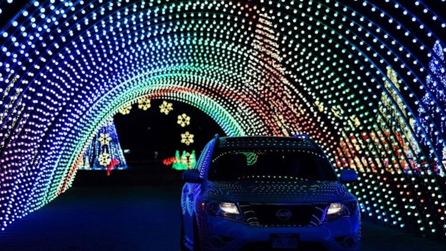 Holiday Lights in New Hampshire - Beautiful Christmas Lights